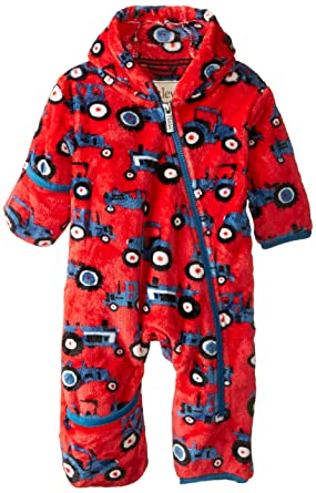 Amazon Com Hatley Baby Boys Fuzzy Fleece Bundler Clothing