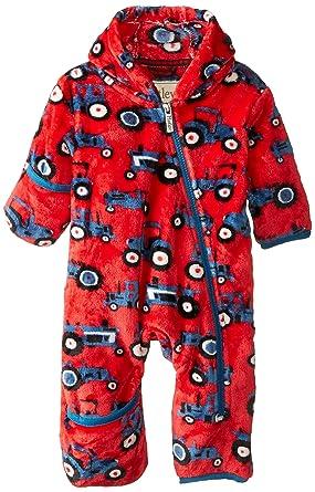 3ad72e4fc372 Amazon.com  Hatley Baby Boys  Fuzzy Fleece Bundler  Clothing