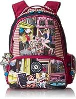 Nicole Lee Water Resistant 18 Inch Laptop Backpack Series 4