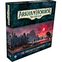 Arkham Horror The Card Game The Innsmouth Conspiracy Deluxe EXPANSION | Horror Game | Cooperative Mystery Card Game…