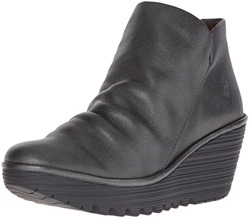aee41c5ce4bda5 Fly London Yip, Women's Slouch Boots, Grey (Borgogna Graphite), 3 UK ...