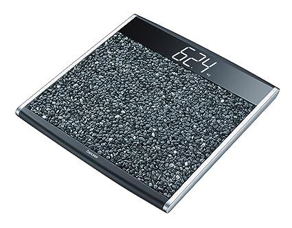 Beurer PS-890 - Báscula de baño con mini piedras de superficie, efecto masaje