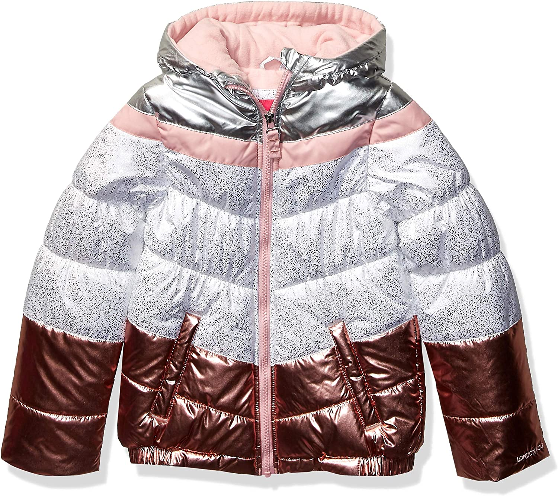 London Fog girls Shine Puffer Jacket Jacket