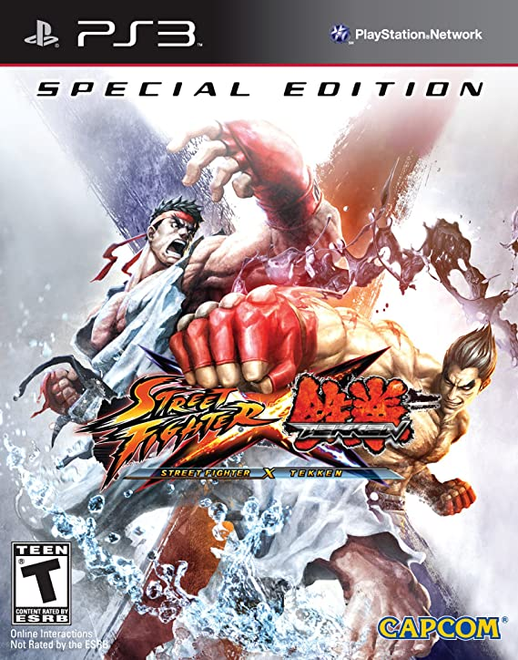 Capcom Street Fighter x Tekken CE, PS3, ESP PlayStation 3 Español vídeo - Juego (PS3, ESP, PlayStation 3, Lucha, Modo multijugador, E12 + (Everyone 12 +)): Amazon.es: Videojuegos
