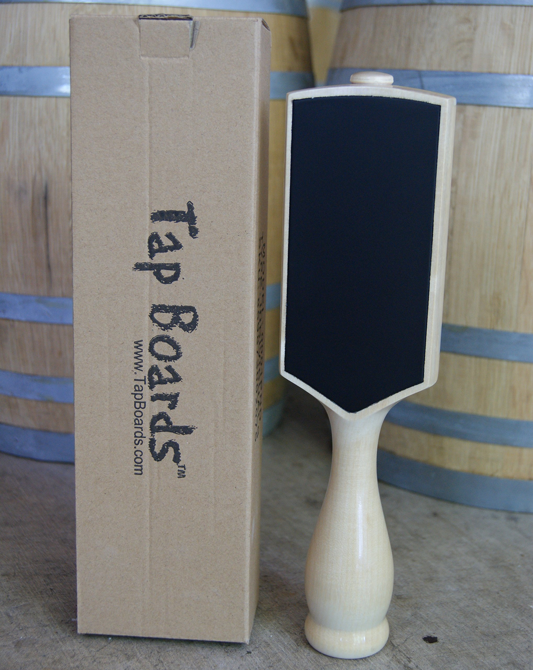 The ORIGINAL Two Sided Chalkboard Tap Handle (Natural) - Tap Boards™