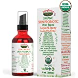 (SKIN) USDA ORGANIC TOPICAL PROBIOTIC Liquid Spray by MaryRuth- Plant based organic strains help restore healthy bacteria to the skin. For Eczema, Psoriasis, Rosacea, Wrinkles & more VEGAN Non-GMO 4oz
