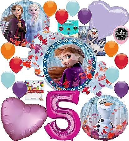 Amazon.com: Frozen 2 suministros de fiesta globo decoración ...