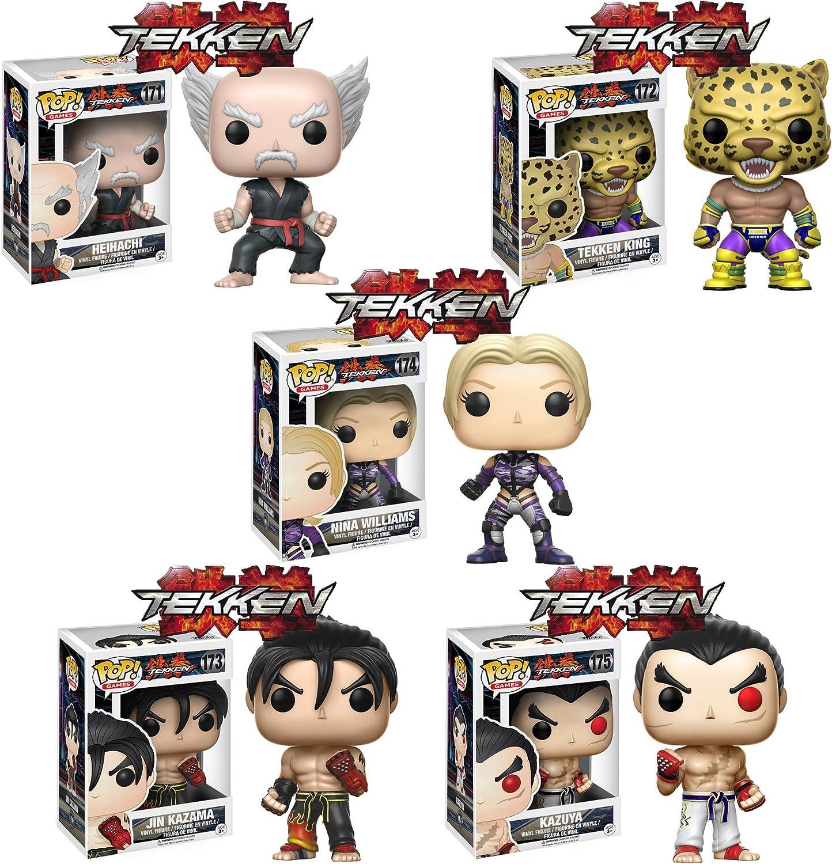 Amazon Com Op Games Tekken Heihachi Tekken King Jin Kazama