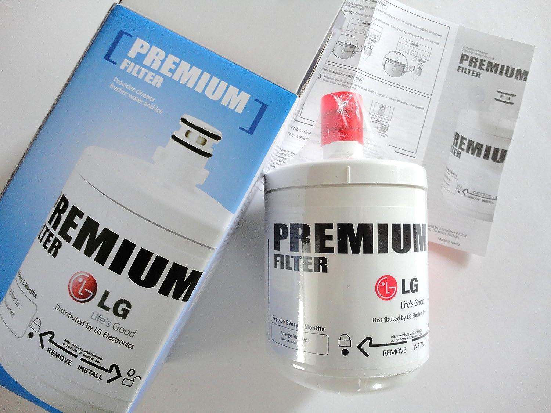 De LG Nevera Filtro de agua para frigorífico cartucho GRL2075DTUA ...