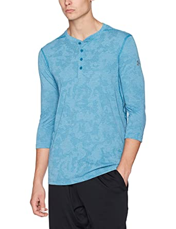 fa50b0d07b Under Armour Men's Threadborne Fitted ¾ Utility Sleeve Shirt