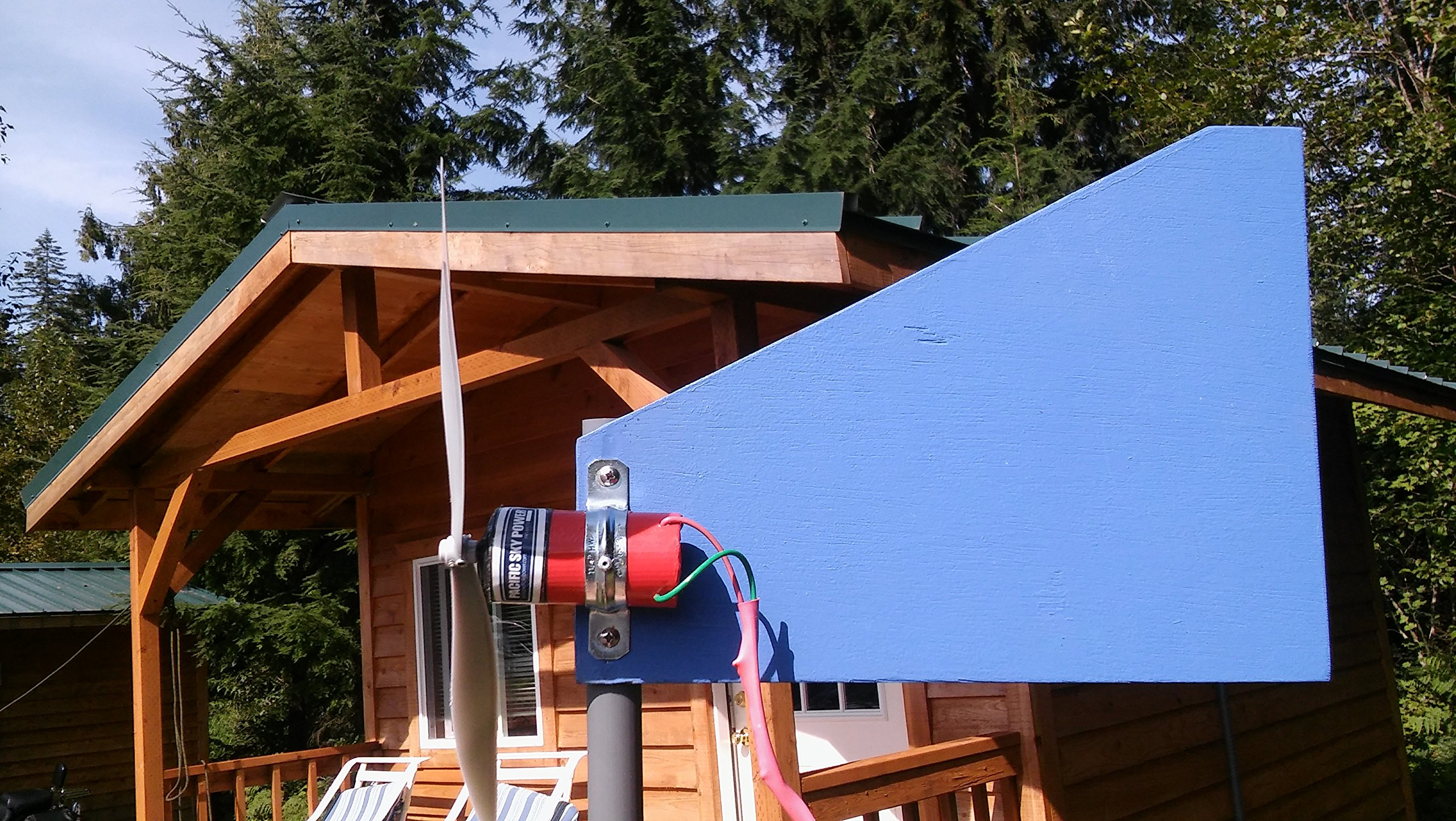 Pacific Sky Power Charger Wind Turbine Generator with Fin by Pacific Sky Power (Image #3)