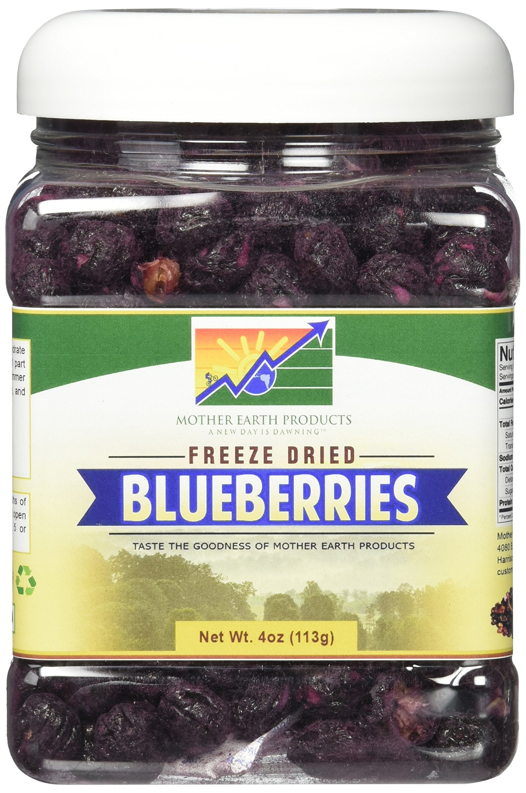 Mother Earth Products Freeze Dried Blueberries, 4 oz by Mother Earth Products (Image #1)