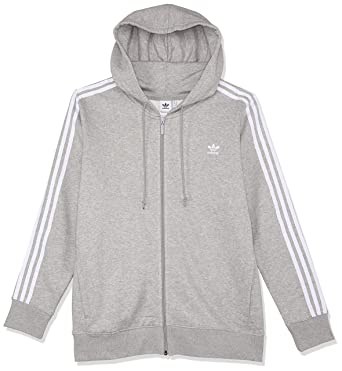 picked up classic fit better adidas Women's 3-stripes Full Zip Hoodie Jacket