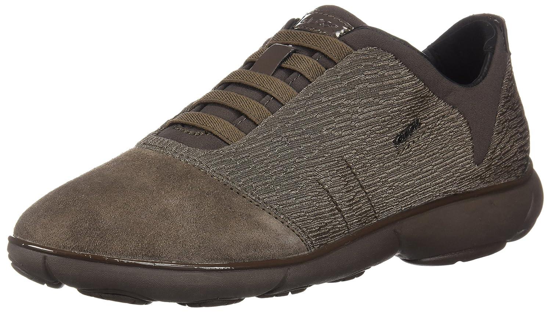 Geox D Nebula C, Sneakers Basses (Chestnut Femme 38 EU|Marron (Chestnut Basses C6004) 20d005