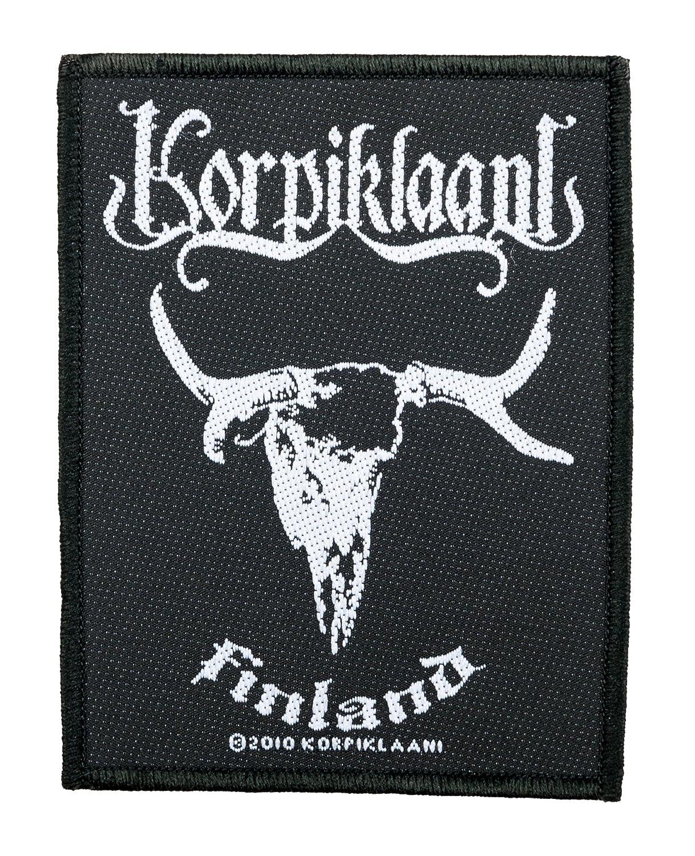 Korpiklaani Badges–Finland Patch–tissée & Licence.