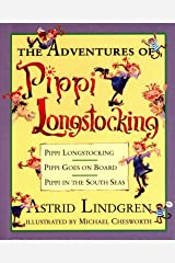 The Adventures of Pippi Longstocking Hardcover