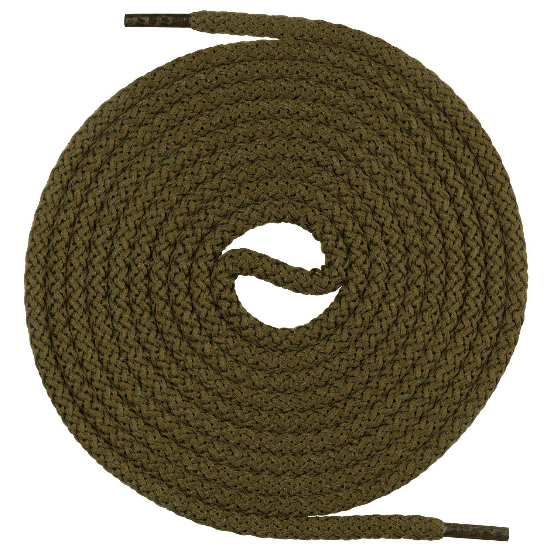 Mount Swiss© PREMIUM de cordones, runds Nietos para Militar de y guantes de trabajo, extremadamente resistente, 4mm de diámetro, longitud 70–220cm longitud 70-220cm