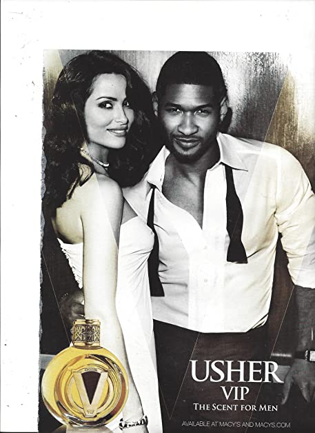 Amazon scented print ad with singer usher for usher vip scented print ad with singer usher for usher vip cologne m4hsunfo