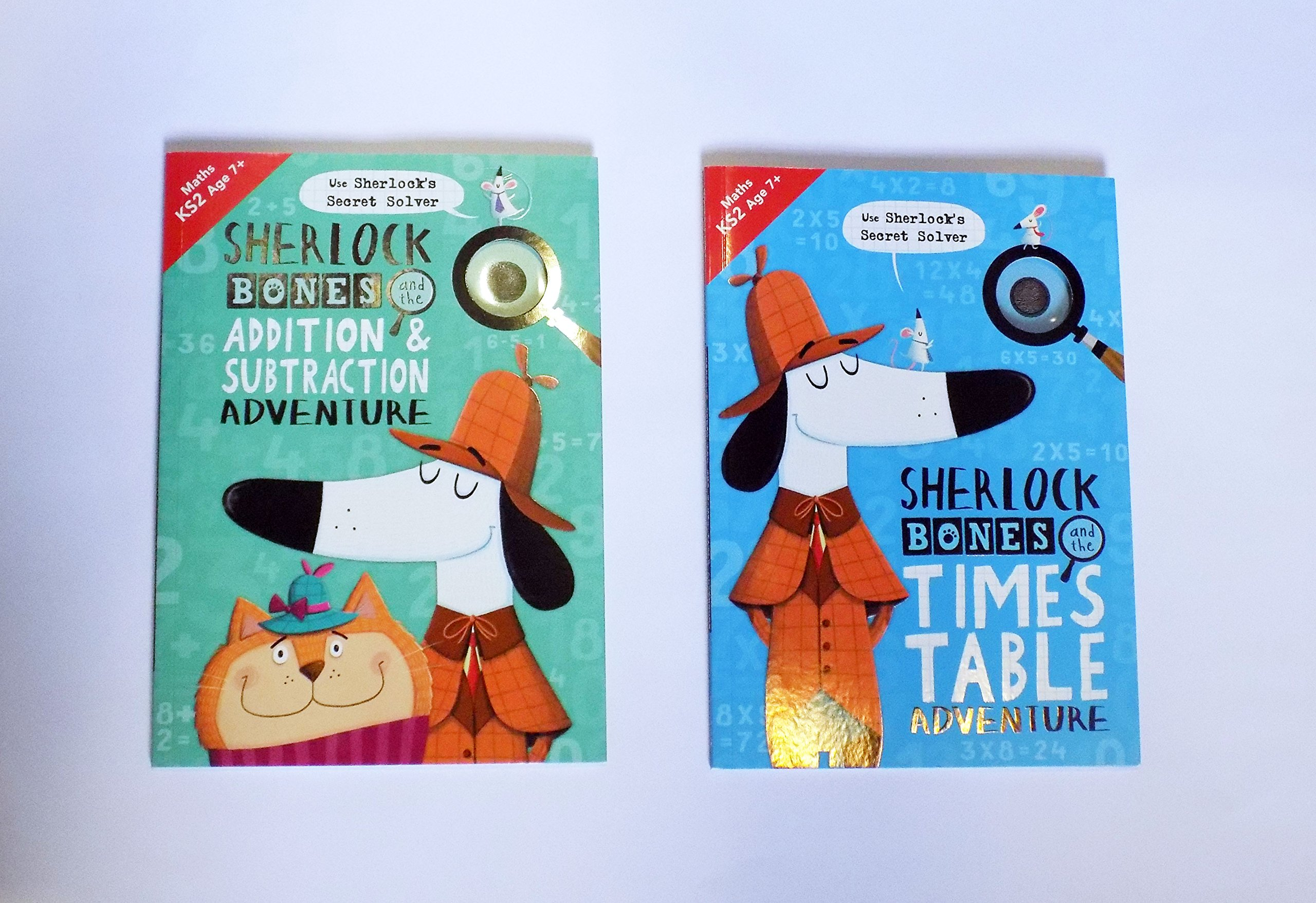 Buy Sherlock Bones and the Times Table Adventure (Buster Maths Games ...