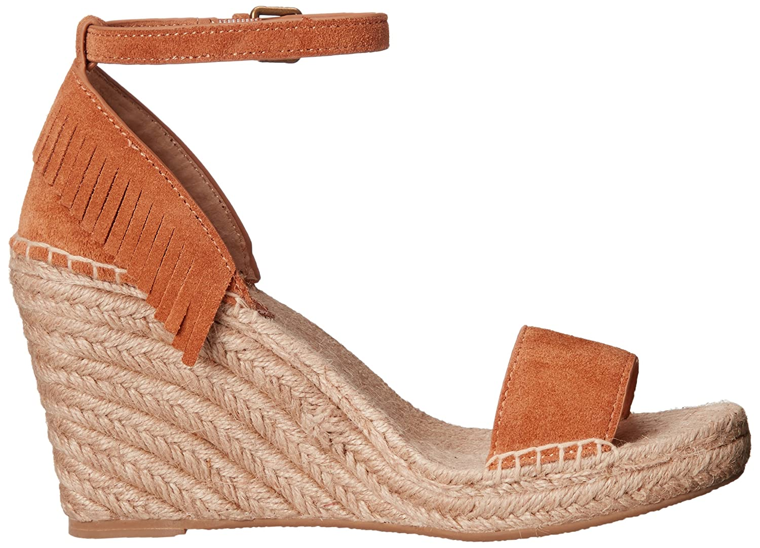 FRYE Women's Lila Feather Espadrille Wedge Sandal