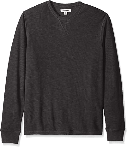 Brand Goodthreads Mens Long-sleeve Indigo Raglan T-shirt