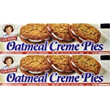 Little Debbie Oatmeal Creme Pies 12 Count Box (2 Boxes) 16.2 OZ