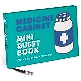 Knock Knock Medicine Cabinet Mini Guest Book