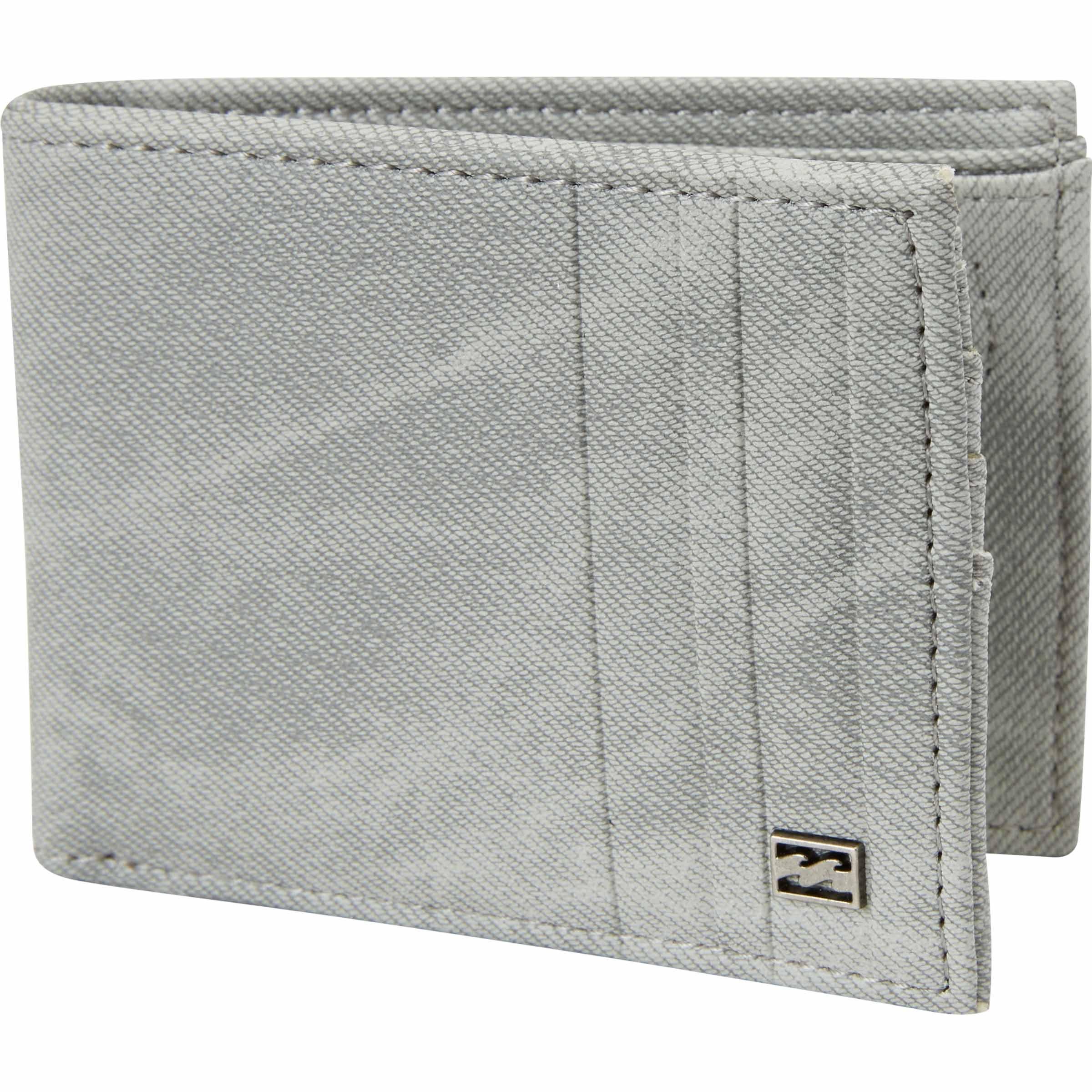 Billabong Men's Backwash Wallet, grey, One Size