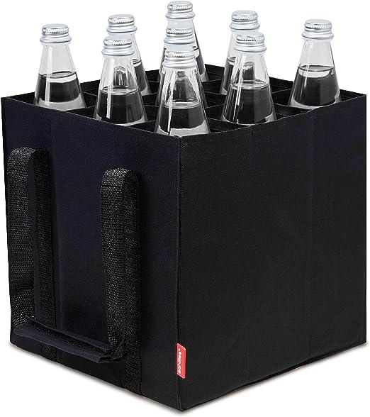 bottlebag Flaschenträger reisenthel Flaschenhalter Einkaufstasche black schwarz