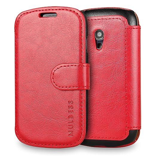 350 opinioni per Custodia Galaxy S3 mini- Cover Galaxy S3 mini- Mulbess Custodia In Pelle Con