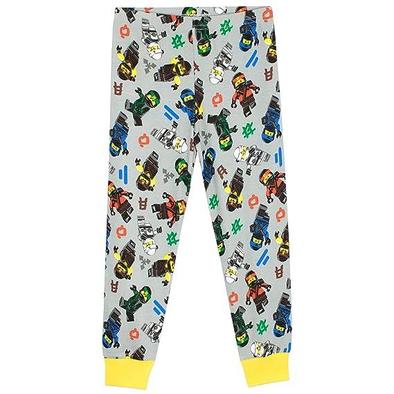Lego Ninjago - Pijama para Niños - Lego Ninjago - Ajuste Ceñido: Amazon.es: Ropa y accesorios