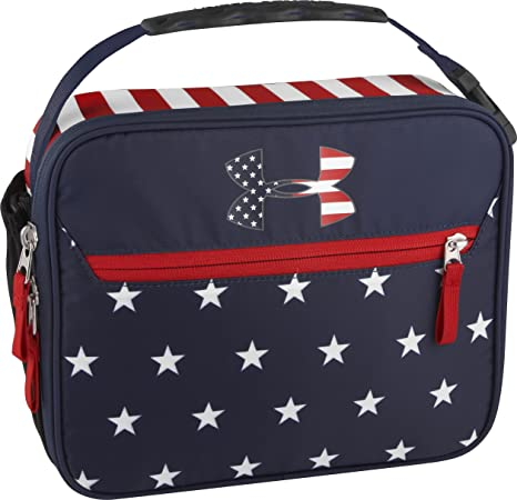 0d1e0f7c Amazon.com: Under Armour Lunch Box, Americana Stars and Stripes ...