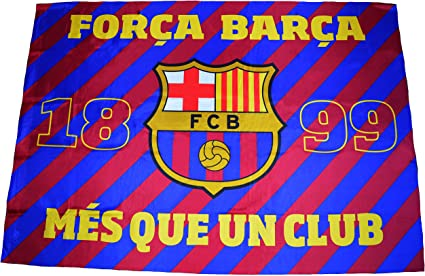 bon service modélisation durable qualité incroyable Fc Barcelone Drapeau Barça - Collection Officielle Supporter Barcelona - 140