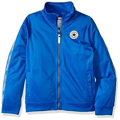 ac2239c9addf Amazon.com  Converse Boys  Track Jacket - Laser Blue