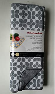KitchenAid Silver Gray Reversible Drying Mat