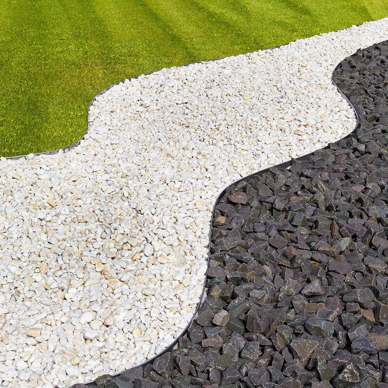 Gut Rasenkante 118x20 cm mit Alu-Verzinkung: Amazon.de: Baumarkt MQ57