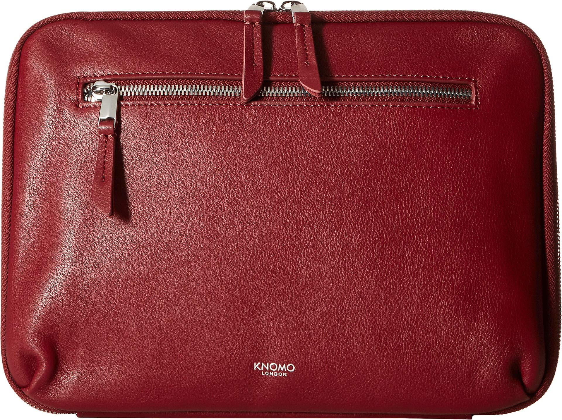 KNOMO London Women's Mayfair Luxe 10.5'' Tech Organiser Burgundy One Size