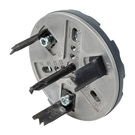 Wolfcraft 5985000 Sierra de corona ajustable para uso universal 0 W, 1 V