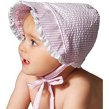 Amazon.com: Little Baby Children Vintage Sun Hat Summer Cotton ...