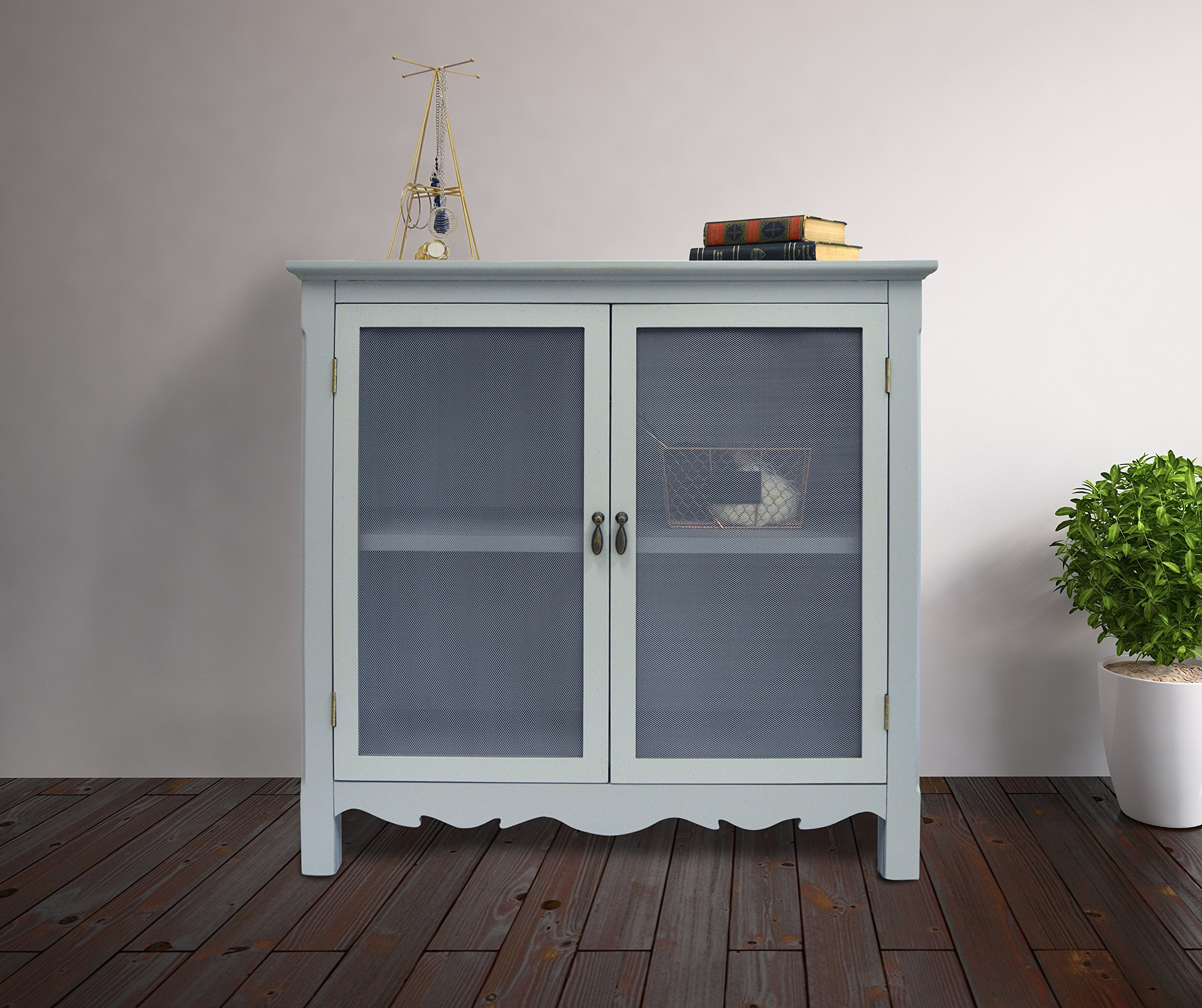 GRAY CHARLESTON CABINET by Haven Home Décor (Image #2)