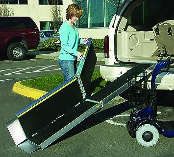 Folding Ramps Trifold Advantage Series Portable Wheelchair Ramps   7 Feet
