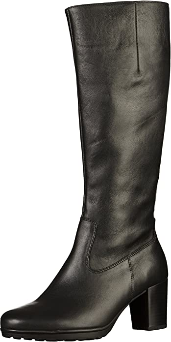 b6921a3479d Gabor Hillary S Womens Long Boots 7.5 Black  Amazon.co.uk  Shoes   Bags