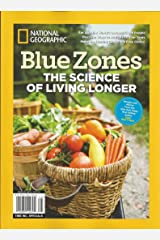 National Geographic Blue Zones The Science of Living Longer Single Issue Magazine