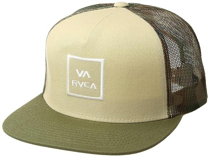 739ccb8f2 Amazon.com: RVCA Men's All The Way Trucker Hat: Clothing
