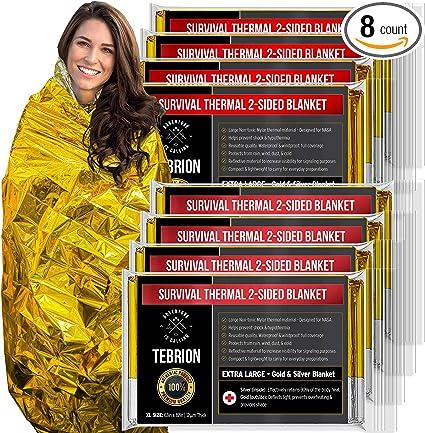 Emergency Blanket Foil Silver Aluminum Survival Compact Medical Sheets Blankets