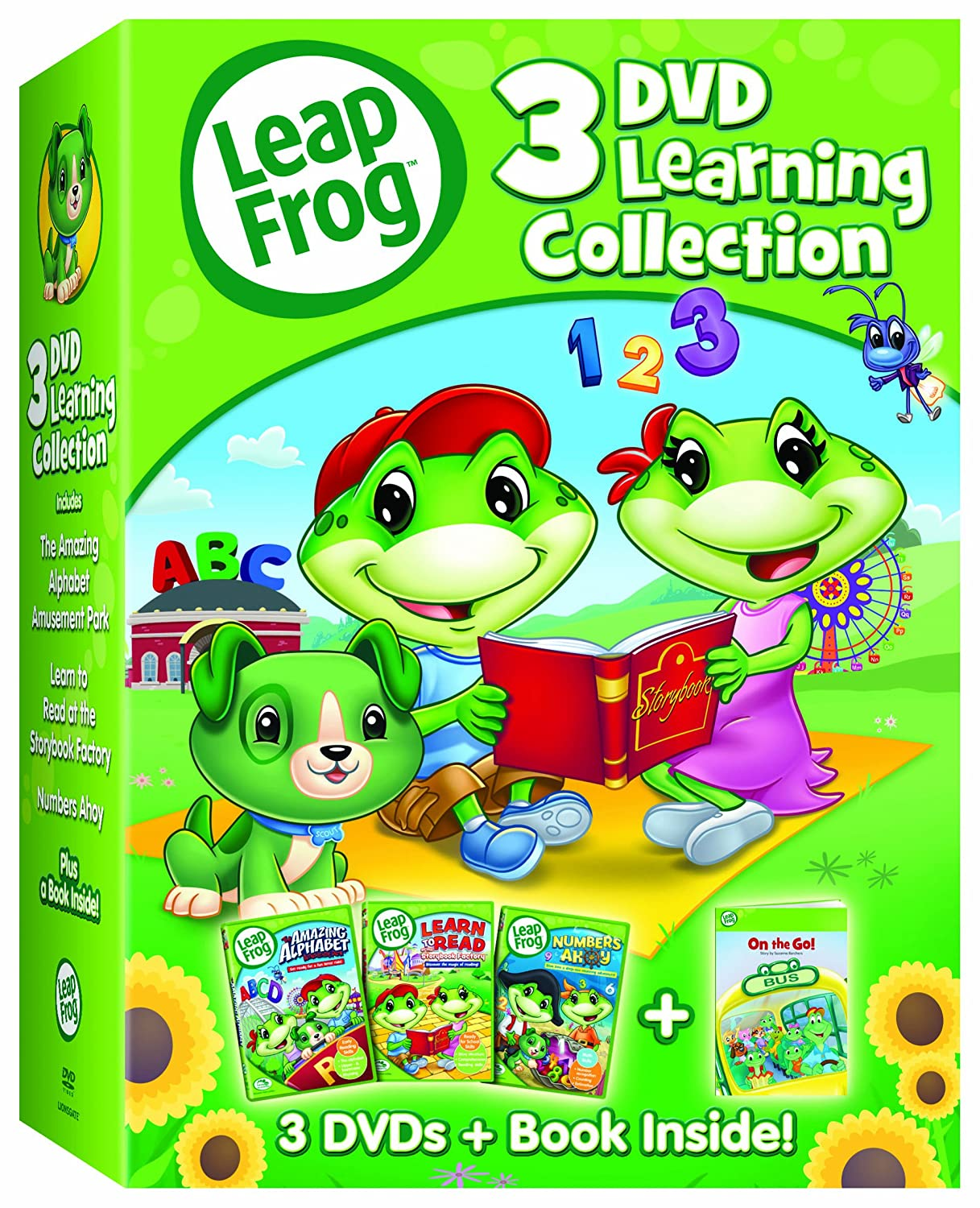 leapfrog letter factory dvd leapfrog 3 dvd learning collection 8 07 60 22719