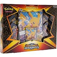 Jogo de Cartas, Copag, Pokémon, Box, Pikachu V, Destinos Brilhantes, Multicor