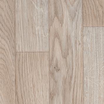 PVC Bodenbelag Holzoptik | Schiffsboden Eiche Weiß | 200, 300 Und 400 Cm  Breite |