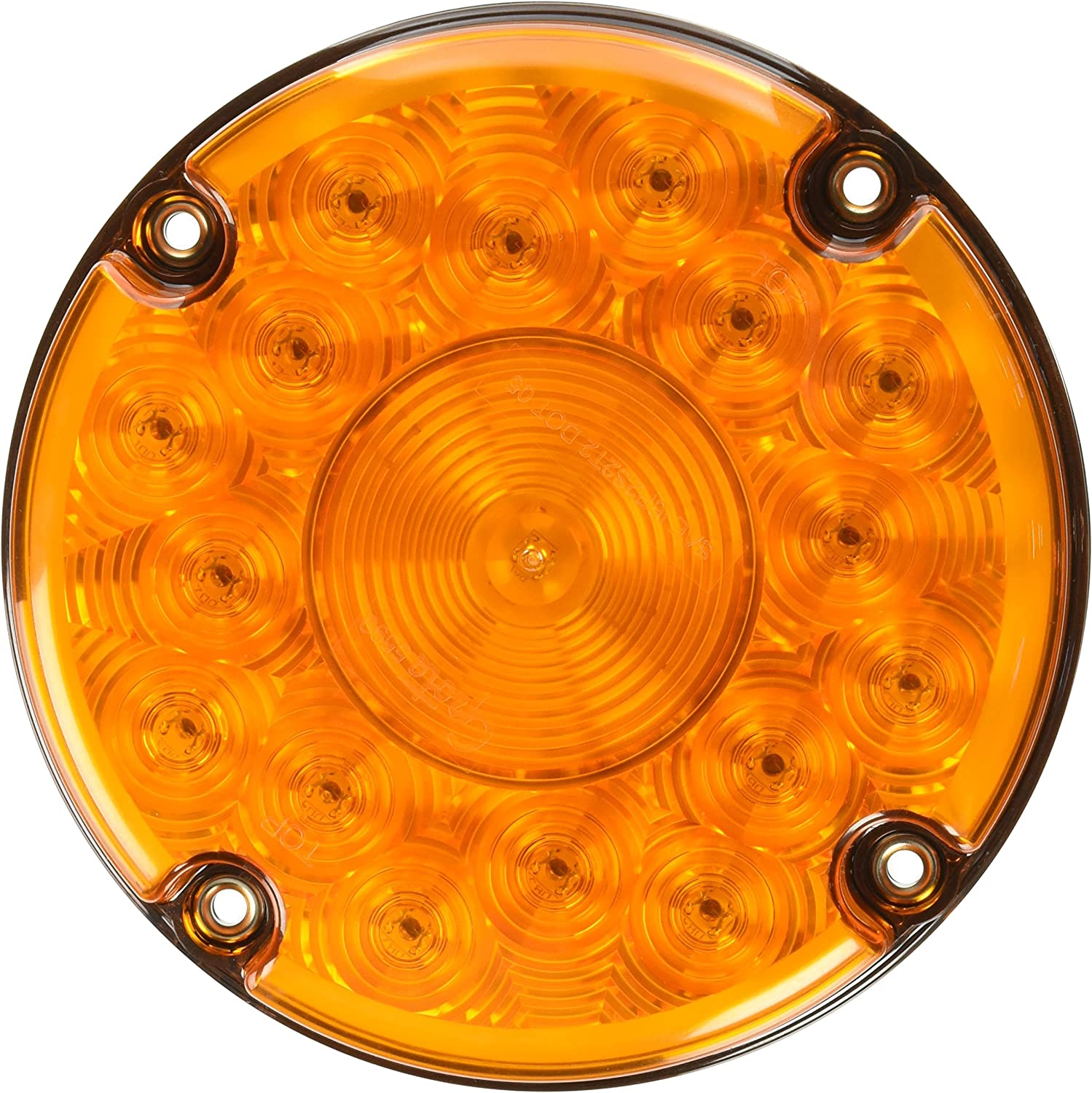 Grote 55983 7 LED Stop Tail Turn Light Front Turn, Single Function with Reflex