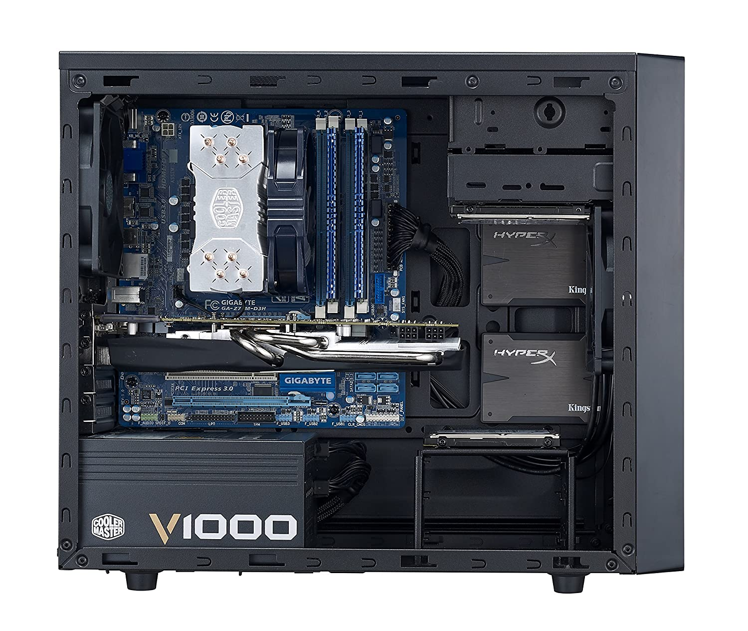 Cooler Master N300 Computer Case ATX USB 3.0 Mesh Side Panel NSE-300-KKN1 microATX